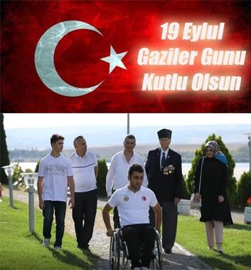 19 Eylül Gaziler Günü Kutlu Olsun.